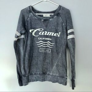 Ocean Drive Distressed Cozy Pullover Size Small